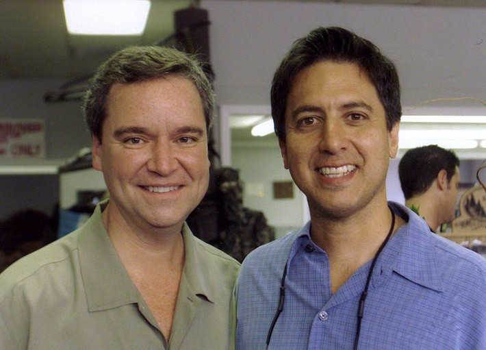 Sam Haskell and Ray Romano