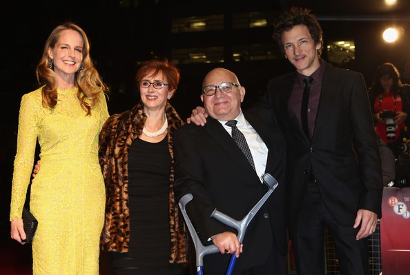 Helen Hunt, Judi Levine, Ben Lewin, and John Hawkes at the 56th BFI London Film Festival