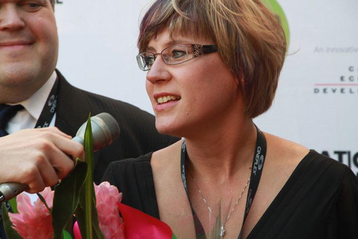 Signe Olynyk at the Calgary International Film Festival