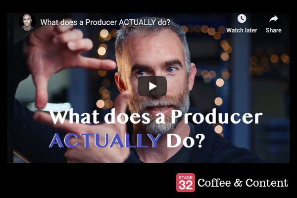 BLOG: Coffee & Content - What does a Producer ACTUALLY do? & Advice for 1st time Producers