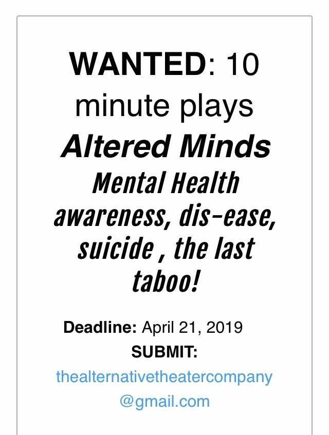 Your Stage : Playwrights wanted by Celine Havard