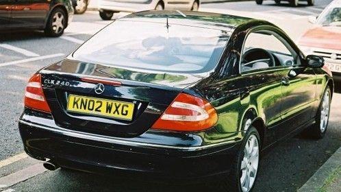 CLK 240 Mercedes second favorite