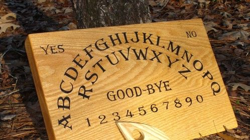 "Ouija Board 2"" thick Oak with Ash Planchette"