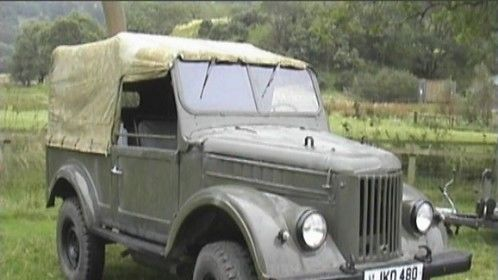 Gaz 69 supplied action vehicles for tomb raider 2 'Lara crofts hero vehicle..