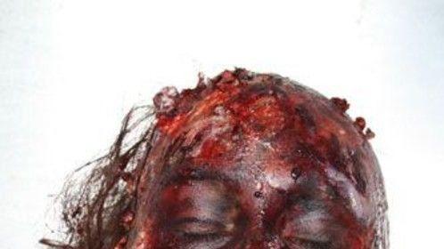 Burns make-up