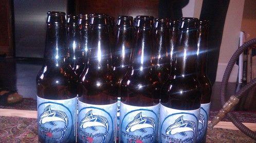 Custom beer for the film
