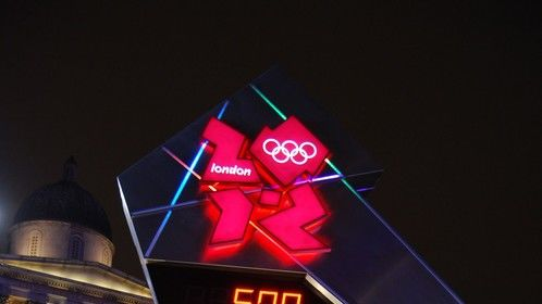 2012 Omega Olympic count down clock