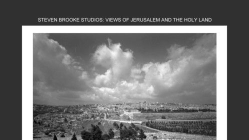 Views of Jerusalem and the Holy Land (Rizzoli, 1997)