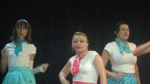 """Performing """"Oogie Woogie Boogie' in """"Brenda Bly Teen Detective' musical June 2010."""