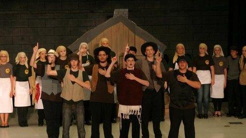 """Tevye"" in Fiddler on the Roof"