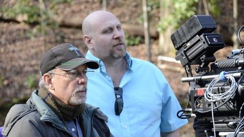 Director Ken Feinberg and DP Mitch Lipsiner