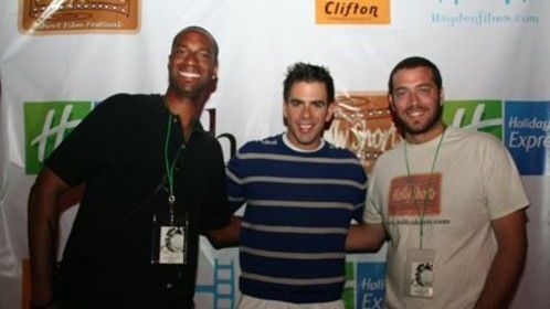 Theo Dumont, Eli Roth, Daniel Sol at HollyShorts 2009