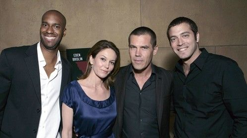 Theo Dumont, Diane Lane, Josh Brolin and Daniel Sol at HollyShorts Opening Night 2008