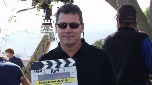 "On the set of ""Sideways"""