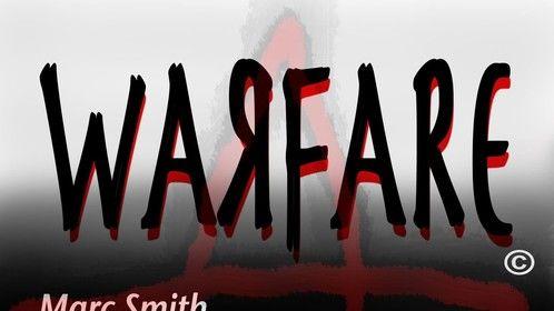 """Warfare"" poster (Timmy Dee, Dave Munn, Shirley Townsend, Sean Lamar Jones, Rostant Anthony, Marshall Fuller"