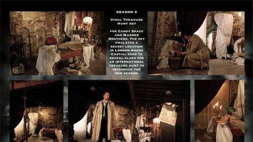 Portfolio Pg 4 - Supernatural Treasure Hunt Set