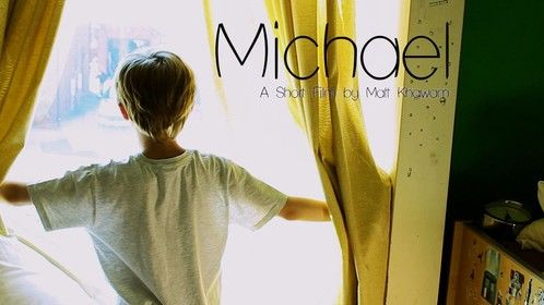 Poster for the short film 'Michael' (2012), which I wrote.