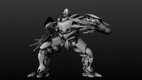 Created in 2 days.  It's a proxy model of a transformer.  I haven't textured yet.  Will do soon though.