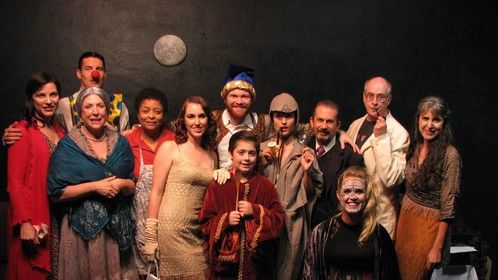 """Cast of  the comdey play ' Balancing The Moon"""" in North Hollywood 2011"""