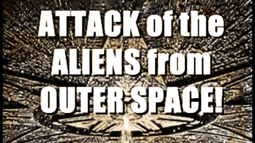 'Attack of the Aliens from Outer Space!' 16mm final (2011)