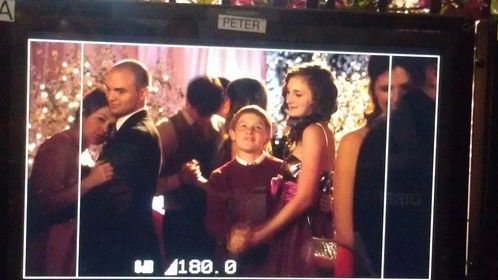 """On set of """"Hart of Dixie"""""""