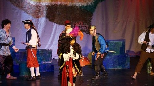 From Peter Pan, Decemeber 2007. I'm the one in teal and black on the left.
