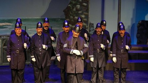 From Gilbert & Sullivan's Pirated of Penzance, Encore 2009. I'm in the first row, first on on the right.