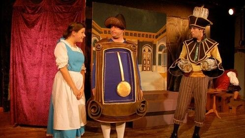 From Beauty and the Beast, May 2010. I'm Cogsworth.