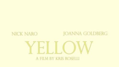 """Short film I starred in called """"Yellow"""""""