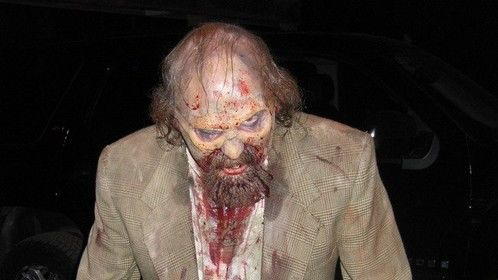 Zombie homeless man from Hallowed End