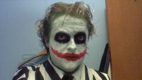 Joker mixed with Beetlejuice