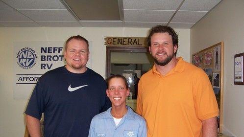 Cleveland Browns Seth McKinney and Ryan Tucker
