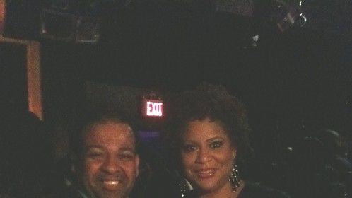 Kim Coles at Celebrity Catwalk Event