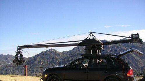 Porsche with the Gemini Crane and Scorpio 3 Axis Remote System