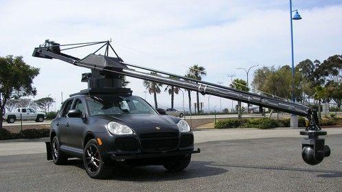 Porsche with our Gemini Crane.