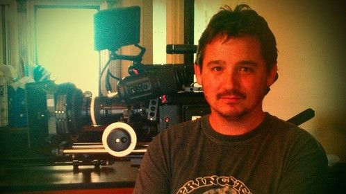 Me and a RedOne with Anamorphic lenses