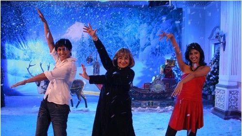 Helen Dancing with Lead Actors
