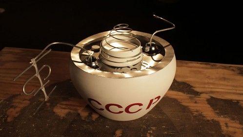 """Dark Matters"" NY Prop Master, Model - 1970's Russian Space Capsule"