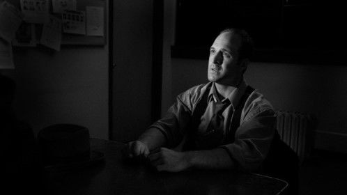 "Joe (Jason Coviello) under interrogation, from ""Web of Lies"""