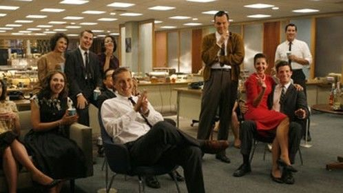 Cinematographer Magazine feature article about Mad Men- I'm the one in RED!