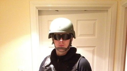 first Attempt at a SWAT loadout (not yet finished)
