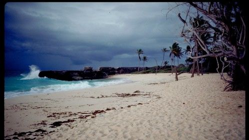 Sam Lord's Castle Beach: Approaching Storm, Barbados