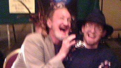 with Robert Englund, Freddy Krueger himself, from 1984 - 2003, in 2008