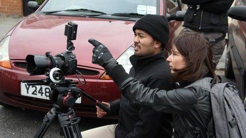 Director Victoria Naumova and DoP Dankuro Shimma