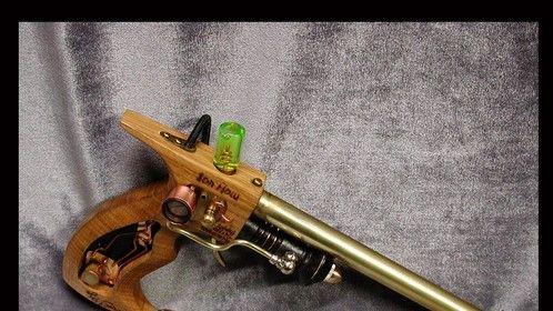 Fitzgerald Emmiter - Steampunk pistol prop