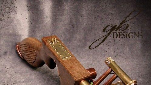 Aether Effsmlyzer - Steampunk pistol prop