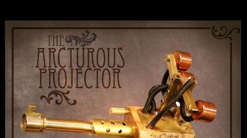 Arcturous Projector - Steampunk pistol prop