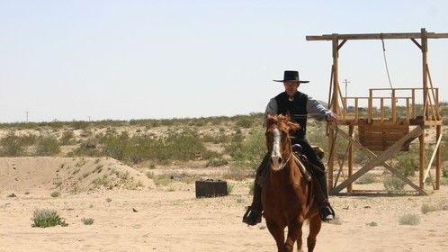 """Shot taken on location - """"Sheriff of Contention."""""""