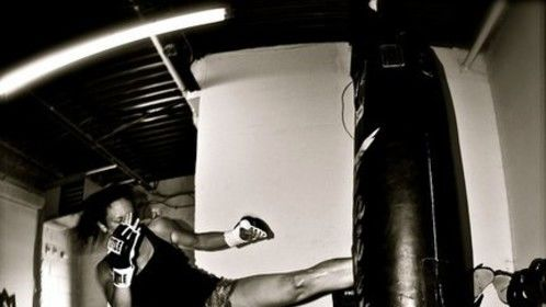 Started Muay Thai training in March and love it - teaches me discipline, focus and how to stay strong when I'm at my weakest.