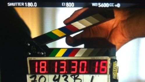 Ricochet movie of the week. Faceplates for timecode slates made by Nola slates